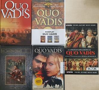 Kolekce Quo Vadis-6DVD + kniha