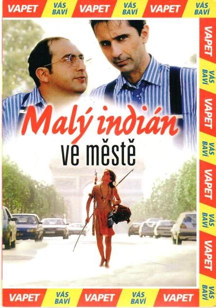 Malý indián ve městě - DVD pošetka