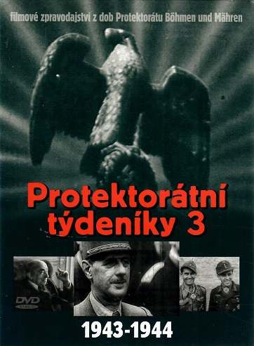 Protektorátní týdeníky 3 ( 1943-1944 ) - digipack DVD