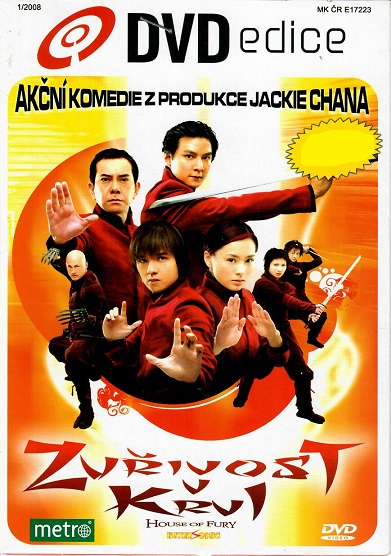 Zuřivost v krvi ( pošetka ) - DVD