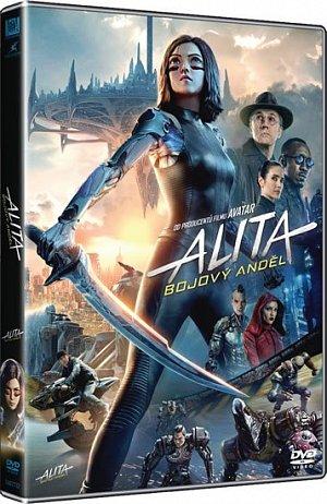 Alita: Bojový Anděl - DVD plast