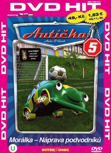 Autíčka 5 - DVD
