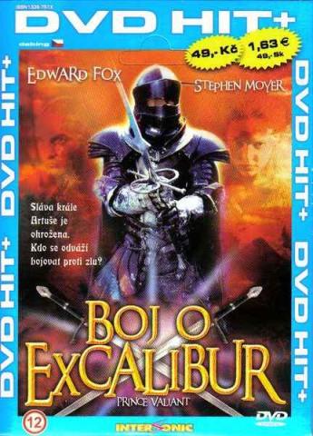 Boj o Excalibur - DVD