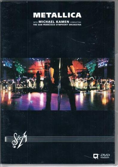 Metallica: S&M with the San Francisco Symphony 2DVD - plast