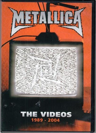 Metallica - The videos - DVD plast