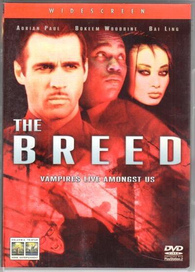 The Breed - DVD plast