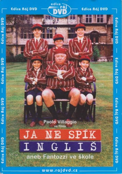 Ja ne spík Ingliš aneb Fantozzi ve škole - DVD