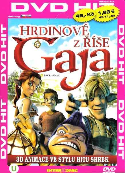 Hrdinové z říše Gaja - DVD pošetka
