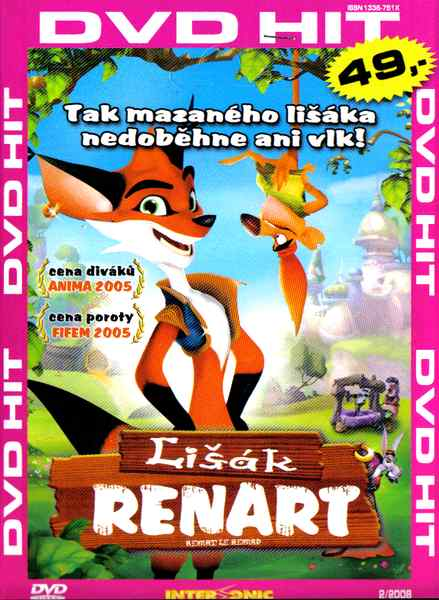 Lišák Renart - DVD