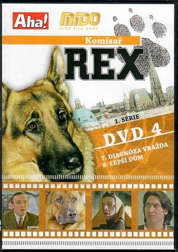 Komisař Rex 1. série DVD 4 ( slim ) - DVD