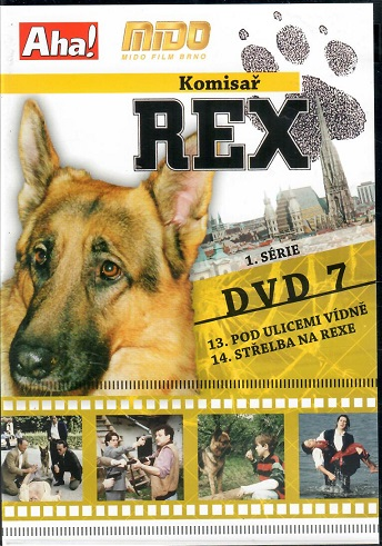 Komisař Rex 1. série DVD 7 ( slim ) - DVD