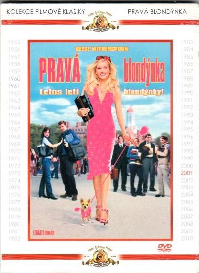 Pravá blondýnka - DVD digipack