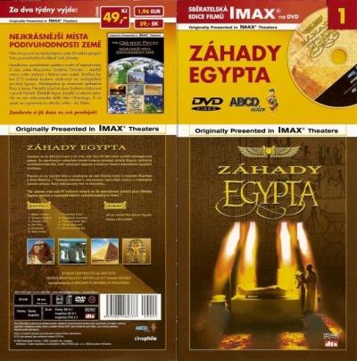 IMAX - 1 - Záhady Egypta - DVD