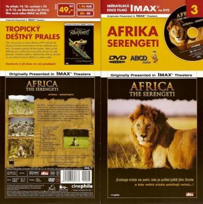 IMAX - 3 - Afrika - Serengeti - DVD