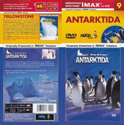IMAX - 9 - Antarktida - DVD