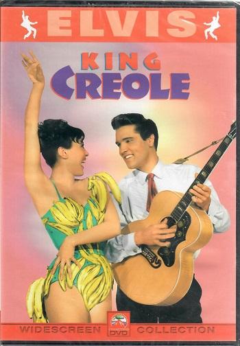 ELVIS: Kong Creole ( originální znění ) plast DVD
