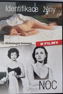 Identifikace ženy/Noc :2 filmy na DVD/plast/
