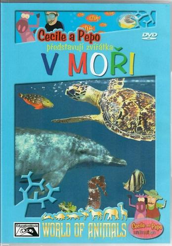 Cecile a Pepo představuji: Zvířátka v moři ( plast ) DVD