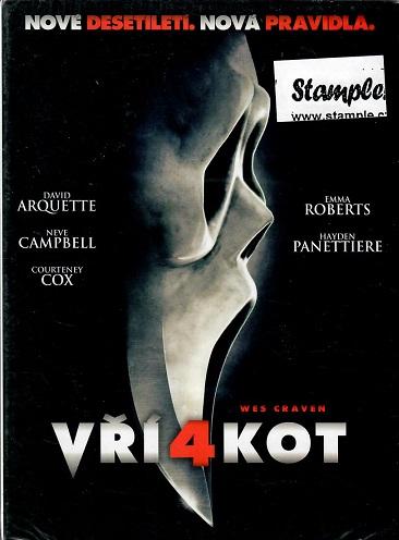 Vřískot 4 ( digipack ) DVD