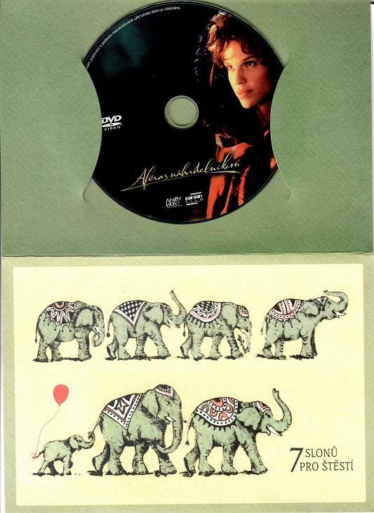 Aféra s náhrdelníkem ( dárkový papír obal ) DVD