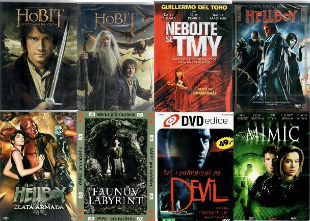 Kolekce Guillermo del Toro - 8x DVD