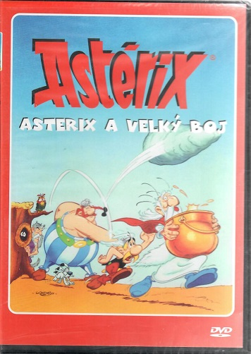 Asterix a velký boj ( Plast ) DVD