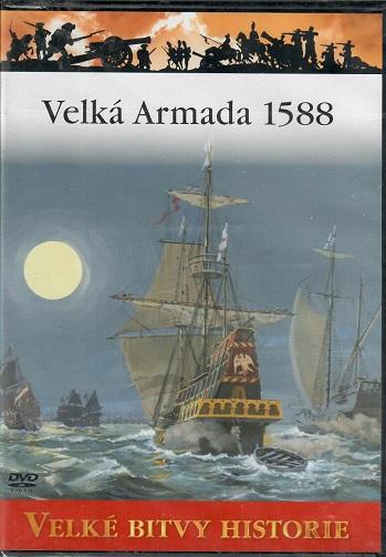 Velké bitvy historie 13 - Velká Armada 1588 ( slim ) DVD