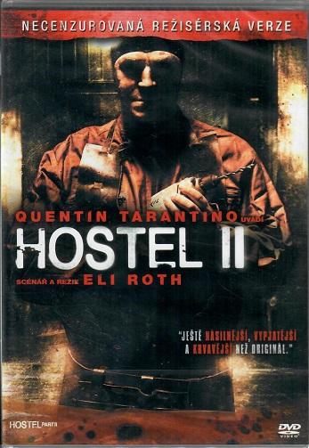 Hostel II ( necenzurovaná režisérská verze ) Plast DVD