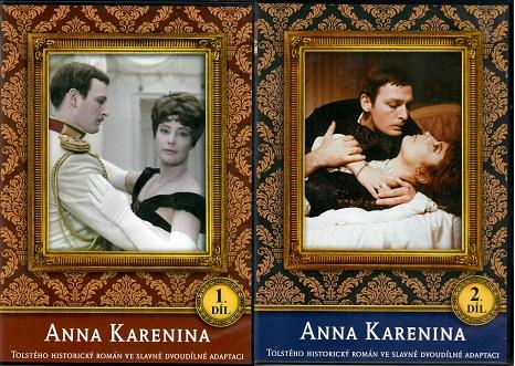 Kolekce Anna Karenina 2x DVD slim