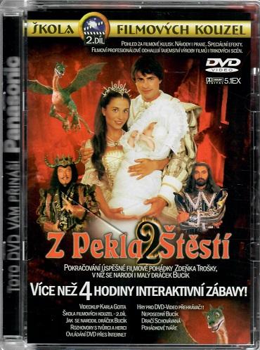 Škola filmových kouzel 2 - Z pekla štěstí 2 ( více než 4 hodin interaktivní zábavy ) - DVD