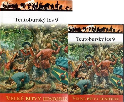 Velké bitvy historie 56 - Teutoburský les 9 ( časopis + DVD )