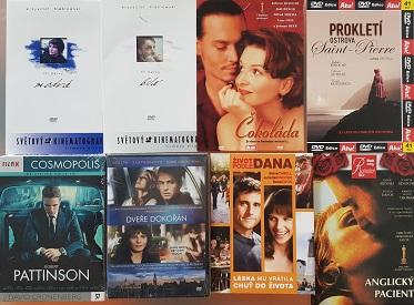 Kolekce Juliette Binoche 6 DVD + 2 DVD zdarma