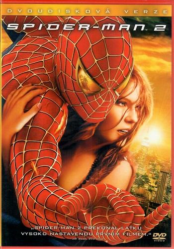 Spider-man 2 - Dvoudisková verze ( plast ) DVD
