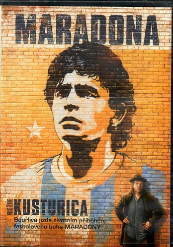 Maradona ( režie Kusturica ) originální znění, titulky  CZ - Plast DVD