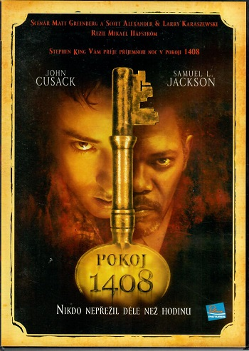 Pokoj 1408 ( plast ) DVD