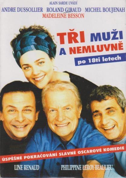 Tři muži a nemluvně po 18 letech - DVD