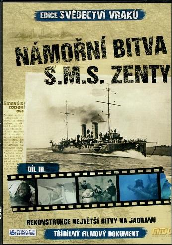 Edice svědectví vraků: Námořní bitva S.M.S. Zenty ( slim ) DVD