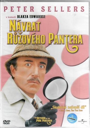 Návrat růžového pantera ( pošetka ) DVD