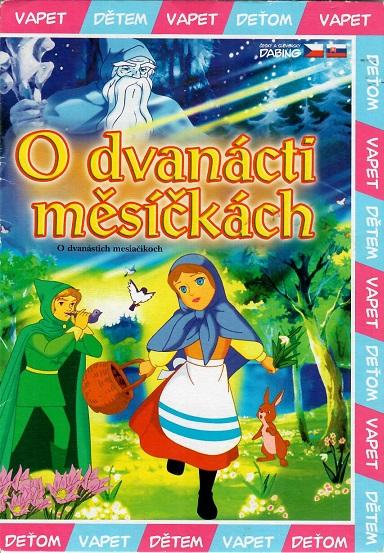 O dvanácti měsíčkách ( pošetka ) DVD