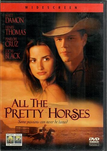All the Pretty Horses / Krása divokých koní ( originální znění, titulky CZ ) plast DVD