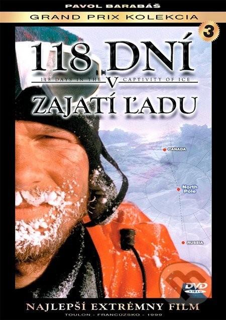 118 dní v zajatí ľadu ( plast ) DVD