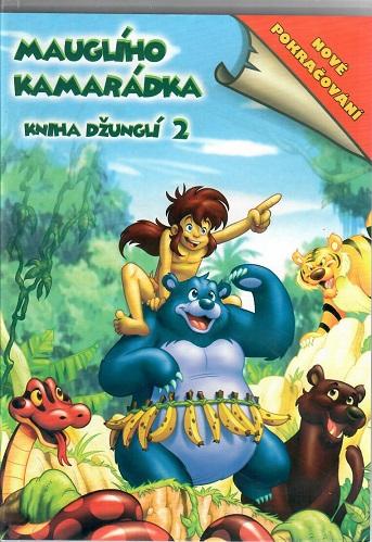 Kniha džunglí 2: Mauglího kamarádka ( plast ) DVD