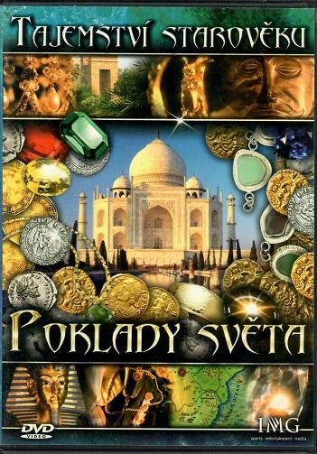 Tajemství starověku - Poklady světa - slim DVD
