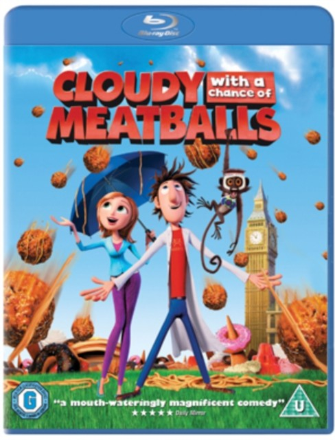 Cloudy with a change of meatballs/blu-ray/