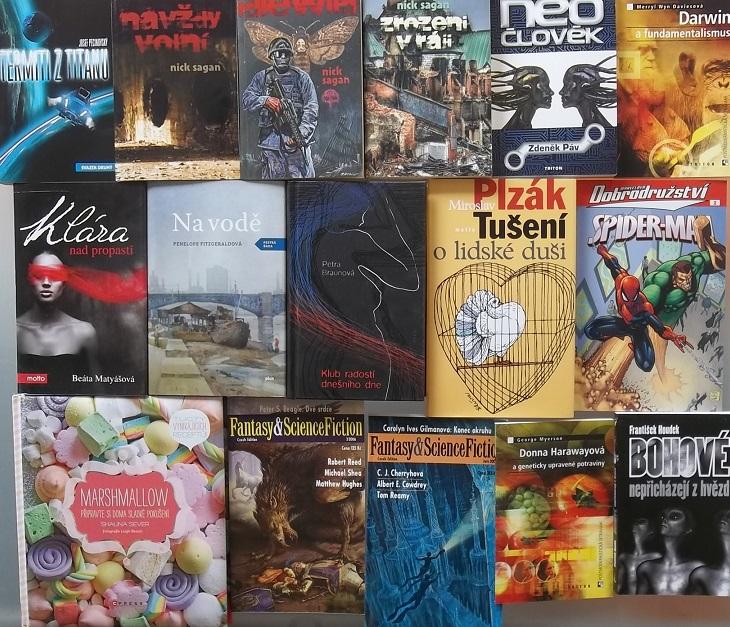 Knižní kolekce 1 - 16 knih