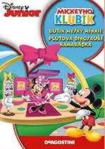 Mickeyho klubík Butik myšky Minnie - DVD plast
