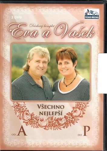 Eva a Vašek: 2x DVD Všechno nejlepší od A do P ( plast ) DVD