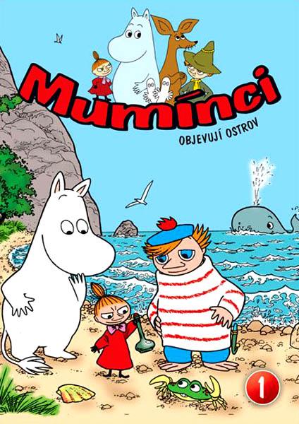 Mumínci 1 - Objevují ostrov - DVD pošetka