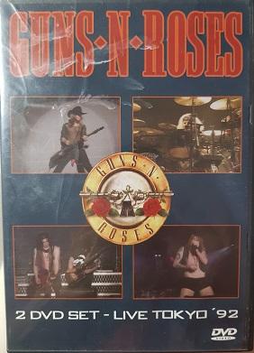Guns N Roses- 2 DVD plast