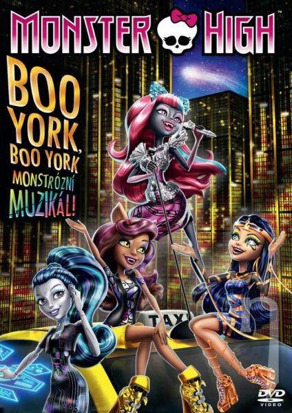 Monster High: Boo York-DVD plast